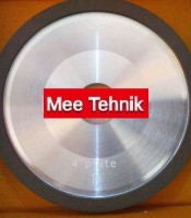 "Mee Tehnik : Diamond Wheel ""FIESTA"" type 4"" PLATE"